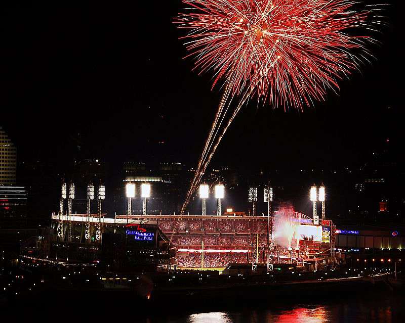 Great American Ballpark photograph by Sports Photographer Vincent Rush